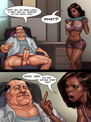 Interracial Comics The Mayor 2- Blacknwhite Porn Comic 08