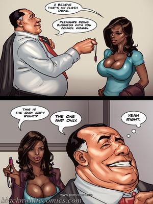 Interracial Comics The Mayor 2- Blacknwhite Porn Comic 21