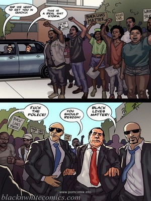 Interracial Comics The Mayor 2- Blacknwhite Porn Comic 23