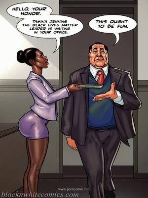 Interracial Comics The Mayor 2- Blacknwhite Porn Comic 24