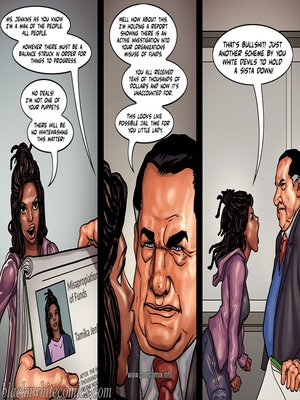 Interracial Comics The Mayor 2- Blacknwhite Porn Comic 27