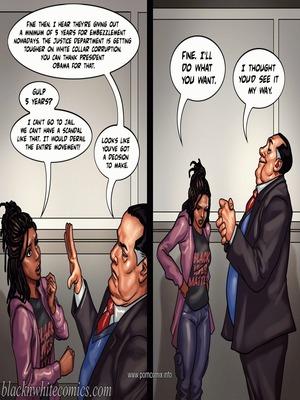 Interracial Comics The Mayor 2- Blacknwhite Porn Comic 30