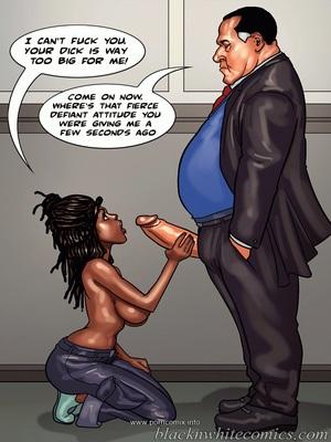 Interracial Comics The Mayor 2- Blacknwhite Porn Comic 34