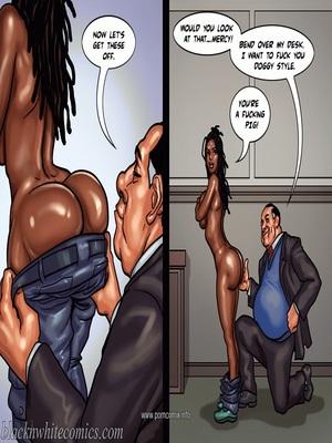 Interracial Comics The Mayor 2- Blacknwhite Porn Comic 38