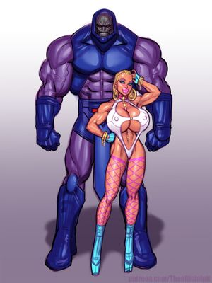 Porn Comics - The Pit- Power Girl vs Darkseid (Superman) free Porn Comic