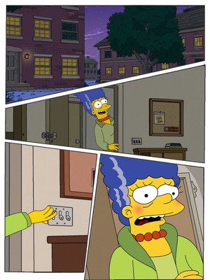 Porn Comics - The Simpsons- Ranma Chan free Porn Comic