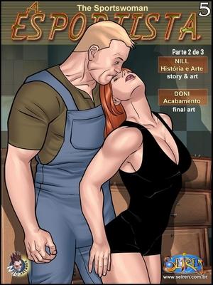 Adult Comics The Sportswoman 5 – Part 2 (English) Porn Comic 01