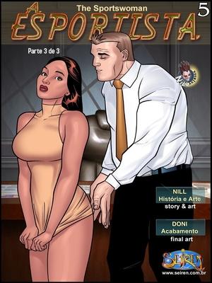 Porn Comics - Adult – The Sportswoman 5 – Part 3 (English)- Seiren Porn Comic