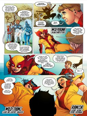 Porncomics Tracy Scops- All-Sex Wolververse Porn Comic 05