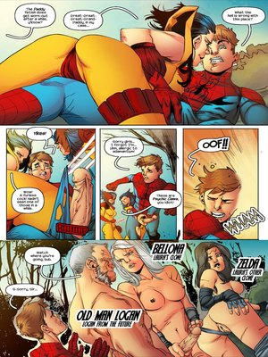 Porncomics Tracy Scops- All-Sex Wolververse Porn Comic 06