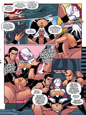 Adult Comics Tracy Scops- Bangin' Jet (R-ex) Porn Comic 07