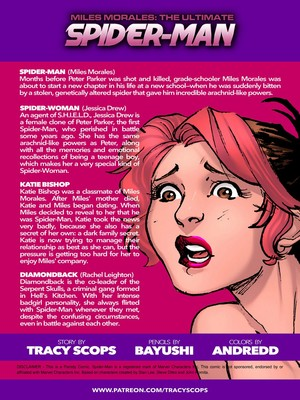 Porncomics [Tracy Scops] Miles Morales- Ultimate Spider Man 2 Porn Comic 02