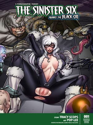 Porn Comics - Tracy Scops- The Sinister Six Against The Black Cat free Porn Comic