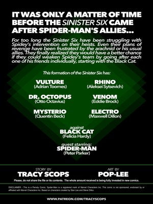 Porncomics Tracy Scops- The Sinister Six Against The Black Cat Porn Comic 02