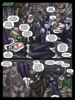 Porncomics Tracy Scops- The Sinister Six Against The Black Cat Porn Comic 03