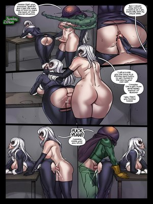 Porncomics Tracy Scops- The Sinister Six Against The Black Cat Porn Comic 06