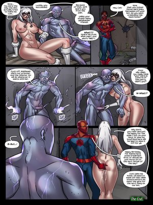 Porncomics Tracy Scops- The Sinister Six Against The Black Cat Porn Comic 10