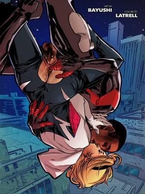 Tracy Scops- Weaving Fluids #1 (Spider-Man) free Porn Comic
