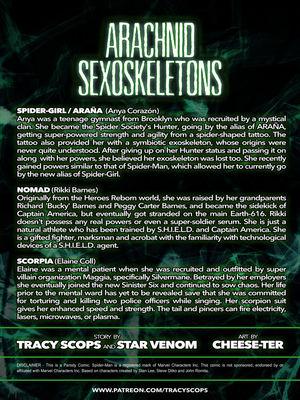 Adult Comics TracyScops- Arachnid Sexoskeletons Porn Comic 02
