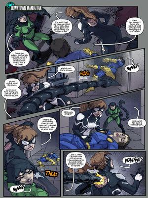 Adult Comics TracyScops- Arachnid Sexoskeletons Porn Comic 03