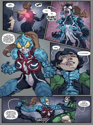 Adult Comics TracyScops- Arachnid Sexoskeletons Porn Comic 04