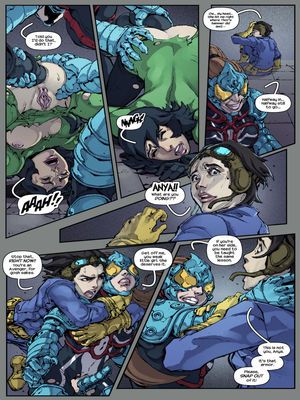 Adult Comics TracyScops- Arachnid Sexoskeletons Porn Comic 07