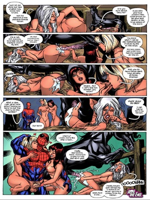 TracyScops- House of Zoo – [Spiderman] free Porn Comic