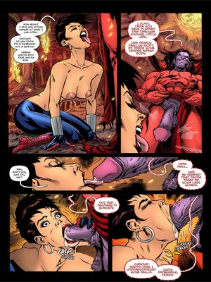 Adult Comics TracyScops- Spider-Girl – One more Day Porn Comic 04