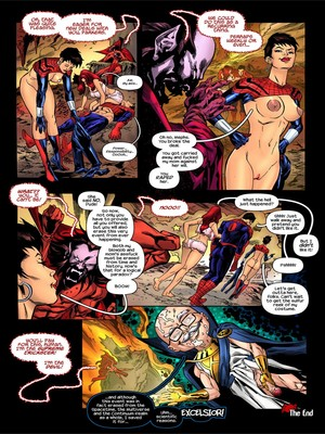 Adult Comics TracyScops- Spider-Girl – One more Day Porn Comic 10