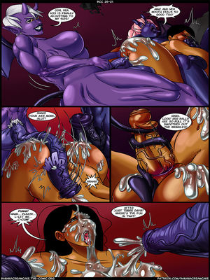 Porncomics Transmorpher DDS- Banana Cream Cake 26- A Harsh Lesson Porn Comic 22
