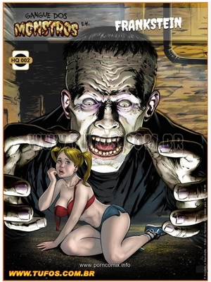 Adult Comics Tufos, Gang of Monsters 2 (English) – Frankenstein Porn Comic 01