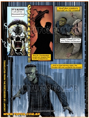 Adult Comics Tufos, Gang of Monsters 2 (English) – Frankenstein Porn Comic 03