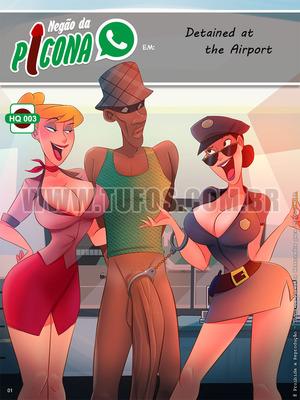 Porn Comics - Tufos- Negao Da Picona 3 – Detained at The Airport free Porn Comic