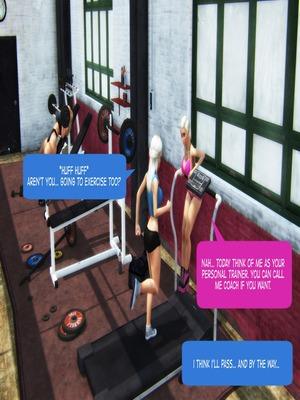 3D Porn Comics Twice as Nice- Poruporuporu Porn Comic 44