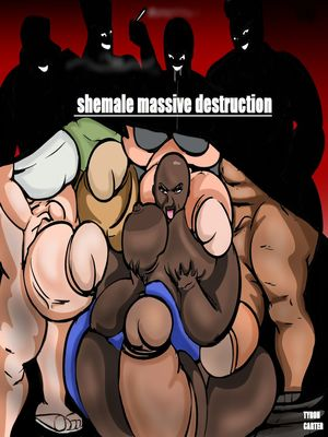 Porncomics Tyron carter- Shemale Massive Destruction Porn Comic 01