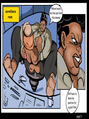 Porncomics Tyron carter- Shemale Massive Destruction Porn Comic 04