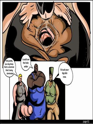 Porncomics Tyron carter- Shemale Massive Destruction Porn Comic 62