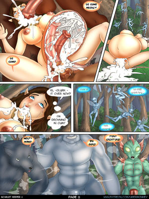 UberMonkey- Scarlet keeper part 2 free Porn Comic sex 08