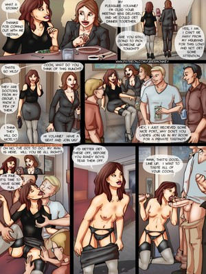 Porn Comics - UberMonkey- Yolaine Gangbang free Porn Comic