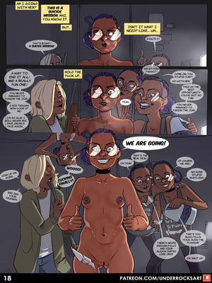 Porncomics Underrock- Mai The Wrongdoer Porn Comic 20