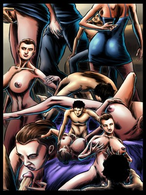 Adult Comics Unknown Pleasures 03- Mind Control,MCC Porn Comic 10