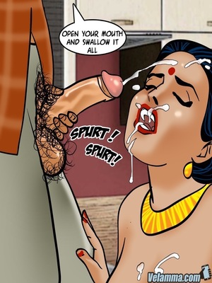 Adult Comics Velamma 66- Heart to Hard On Porn Comic 100