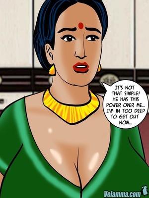 Adult Comics Velamma 66- Heart to Hard On Porn Comic 115