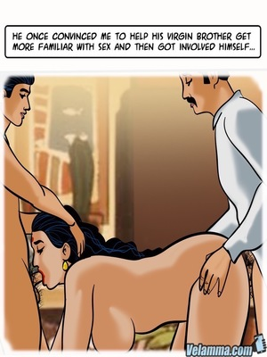 Adult Comics Velamma 66- Heart to Hard On Porn Comic 116