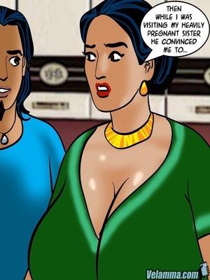 Adult Comics Velamma 66- Heart to Hard On Porn Comic 126