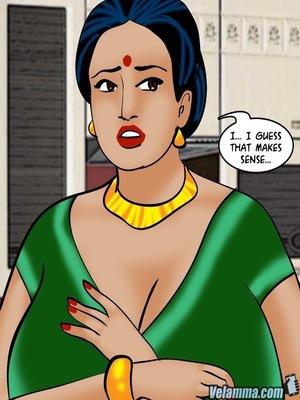 Adult Comics Velamma 66- Heart to Hard On Porn Comic 134