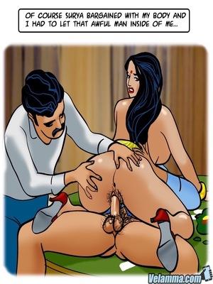 Adult Comics Velamma 66- Heart to Hard On Porn Comic 144