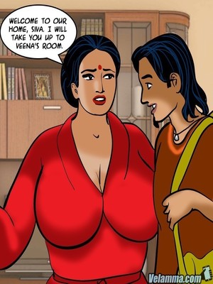 Adult Comics Velamma 66- Heart to Hard On Porn Comic 15