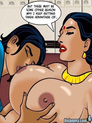 Adult Comics Velamma 66- Heart to Hard On Porn Comic 150