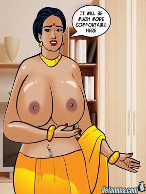Adult Comics Velamma 66- Heart to Hard On Porn Comic 158